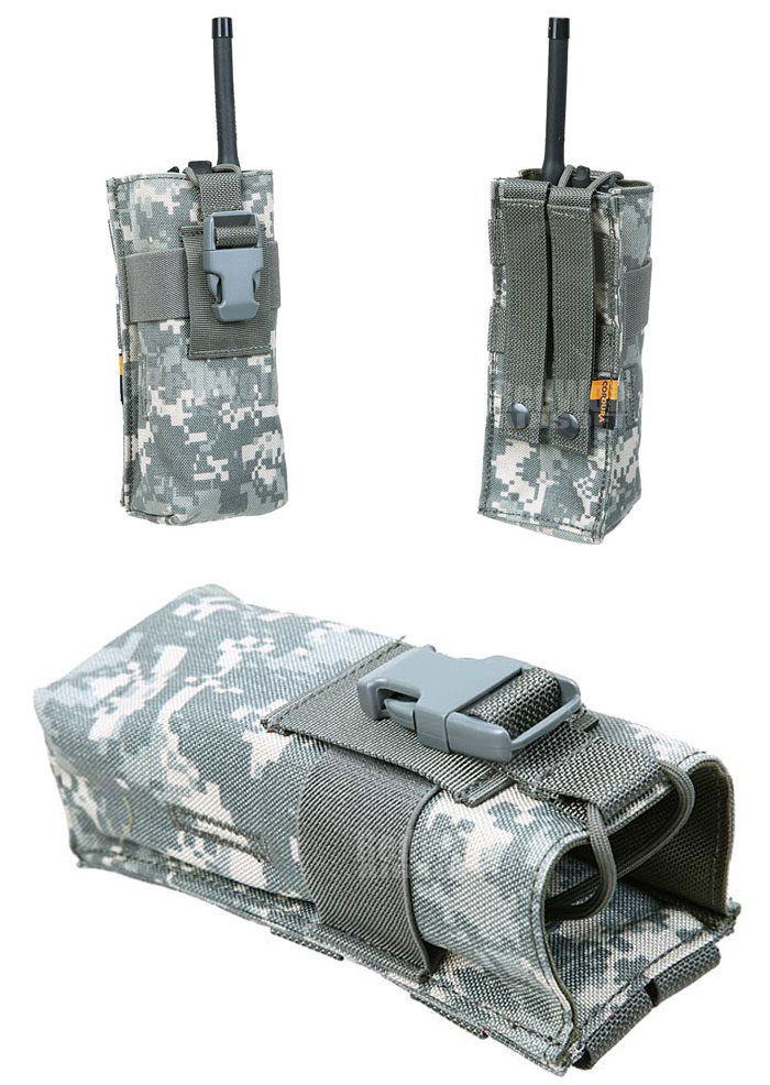 PANTAC Molle PRC148 Radio Pouch (ACU / Cordura) <font color=red> (Holiday Blowout Sale)</font>