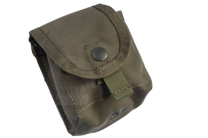 PANTAC Molle FLC Single Fragmentation Grenade Pouch (Cordura / Ranger Green)