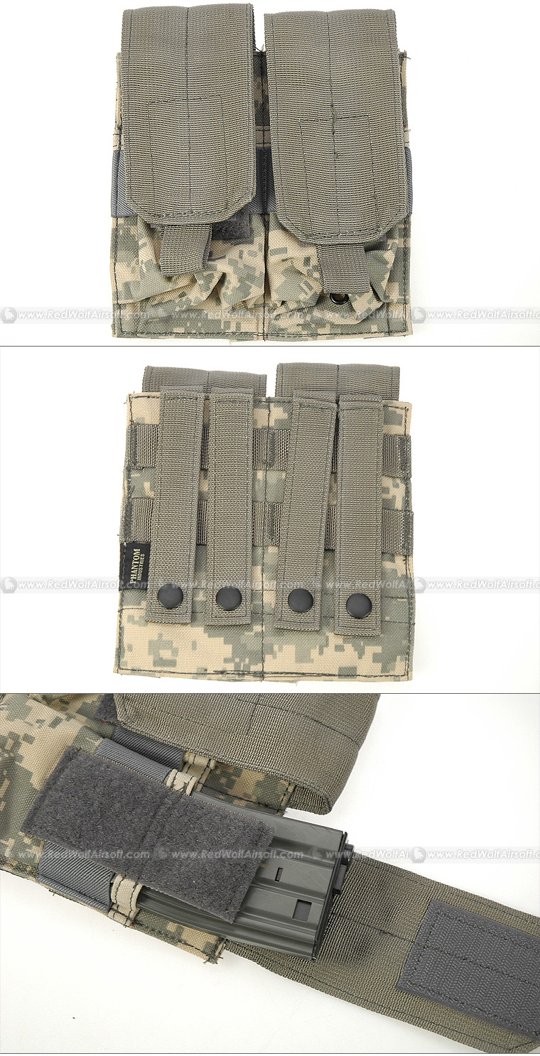 PANTAC Double M16 Mag Pouch(ACU) <font color=red> (Holiday Blowout Sale)</font>