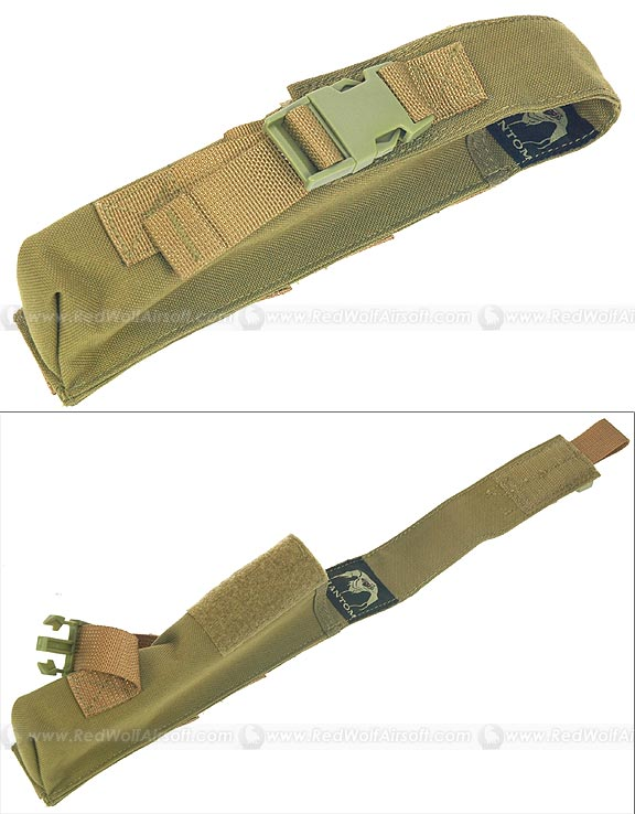 PANTAC Single Pop Flare Pouch (Khaki / CORDURA)