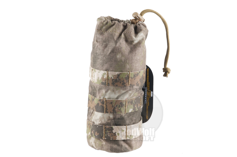 PANTAC Molle Bottle Pouch (A-TACS / Cordura) - Deluxe Version
