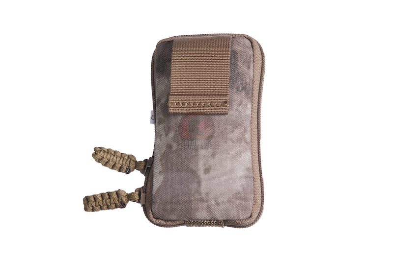 PANTAC Molle Zippered Drop Pouch, Small (A-TACS / Cordura)