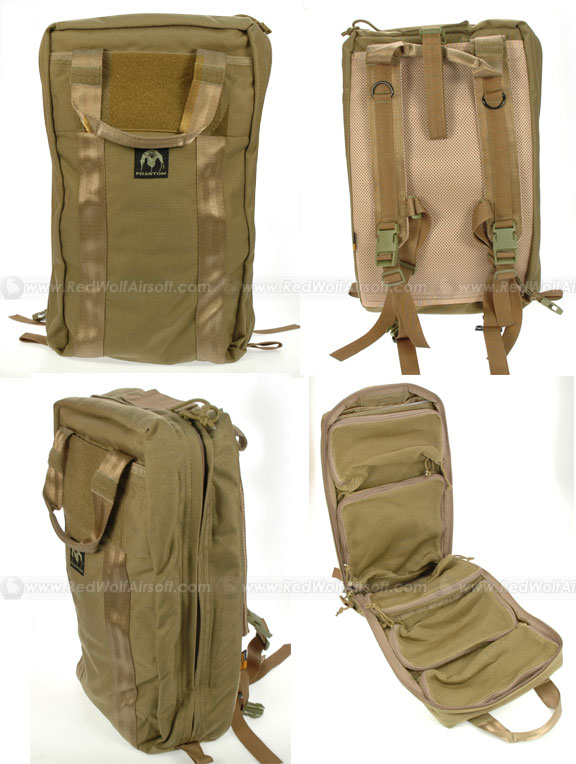 PANTAC Mini Medical Backpack (Khaki / CORDURA)