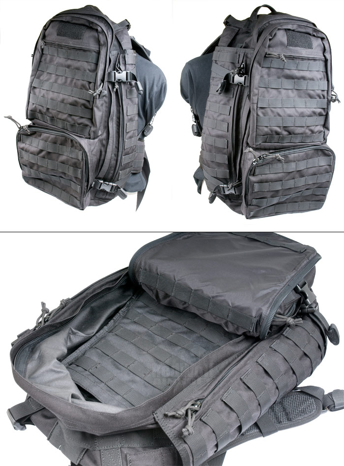 PANTAC Molle Forward Deployment Pack (BK / Cordura) (Back to School)