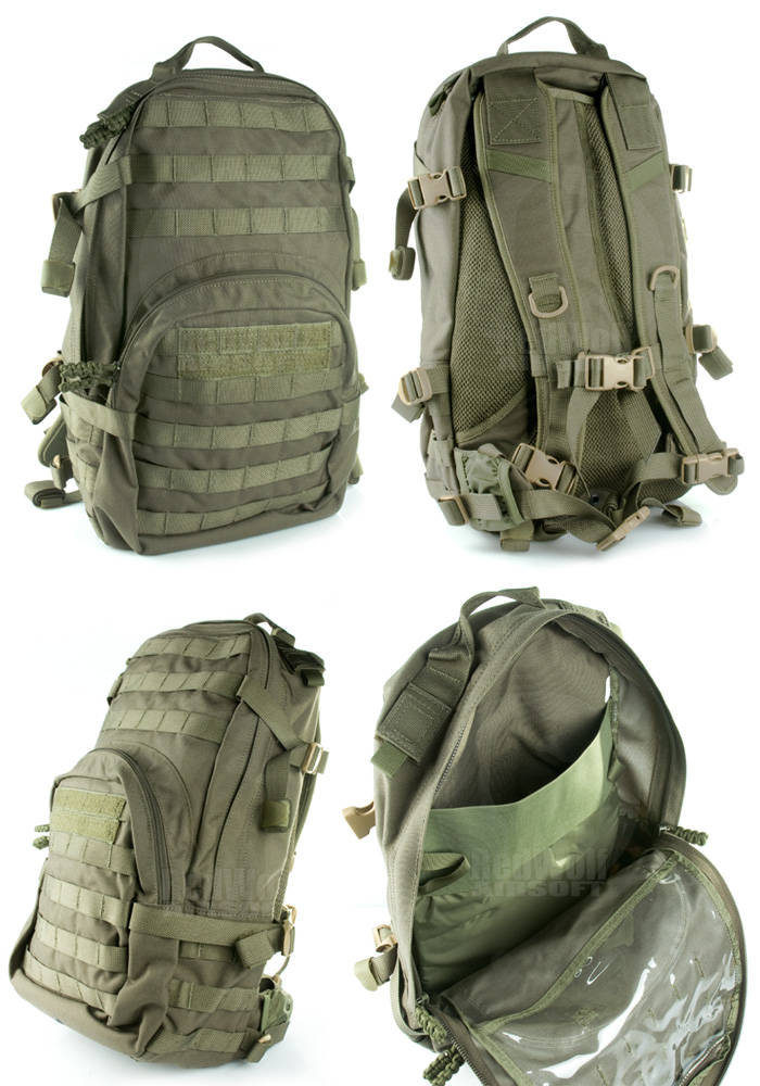 PANTAC Molle HAWK Backpack (Ranger Green / Cordura)