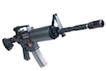 APS Plastic M4A1 Carbine Electric Blowback - AEG<font color=red> (Holiday Blowout Sale)</font>