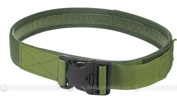 PANTAC Duty Belt With Security Buckle (OD / Medium)