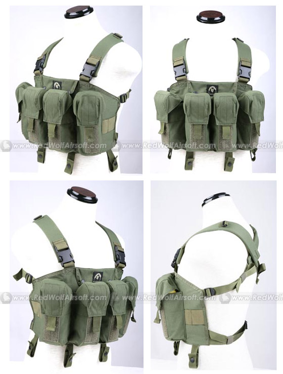 PANTAC LBT AK Tactical Chest Vest (OD / CORDURA)