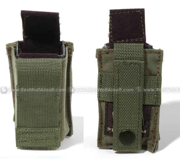 PANTAC Molle 9mm Magazine Single Pouch (OD / CORDURA)