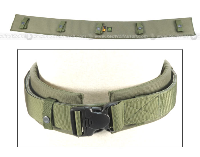 PANTAC Duty Belt Padding (OD / Small / Cordura)
