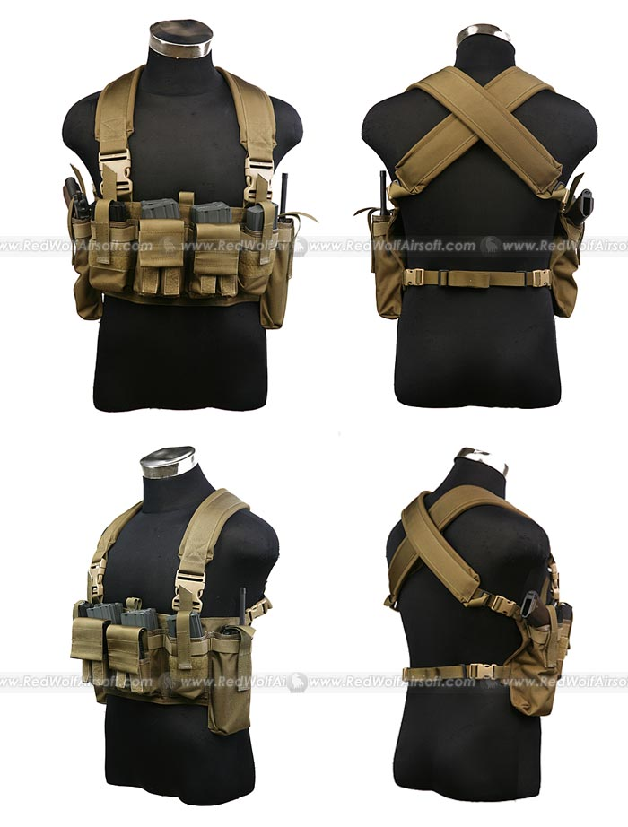 PANTAC M4 Tactical Chest Vest (CB / CORDURA)