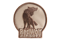 Redwolf Logo Velcro Patch (Arid)
