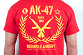 RedWolf Airsoft High Quality T-shirts Classic Rifle series - AK-47 (Size: Large)