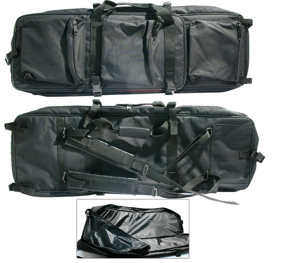 Milspex Multi-size Dual Rifle Bag (Black)<font color=red> (Holiday Blowout Sale)</font>
