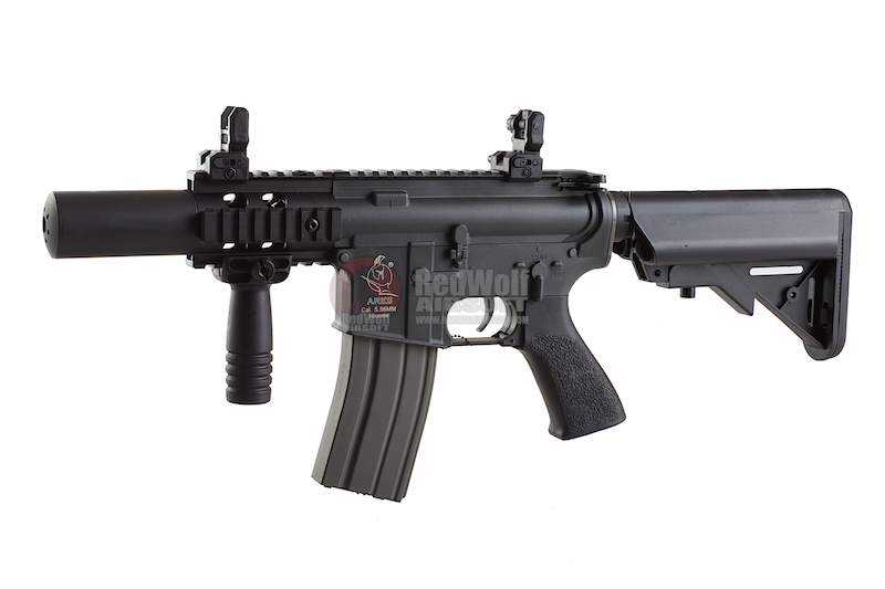 ARES M4 CQC Nylon Fiber+ Al.Alloy Version - BK