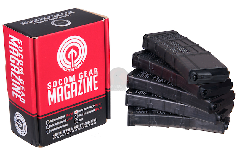 Socom Gear Lancer L5 Advanced WarFighter Magazine for M4 - Mid Cap / 5pcs