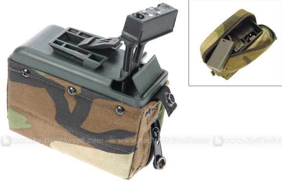 Shooter 1550 rounds Cartridge Pouch magazine for M249