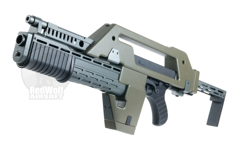 Snow Wolf M41A1 Aliens Pulse Rifle (AEG)