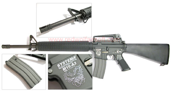 Metal M16 grip, stock and M4 front barrel? - Upgrades