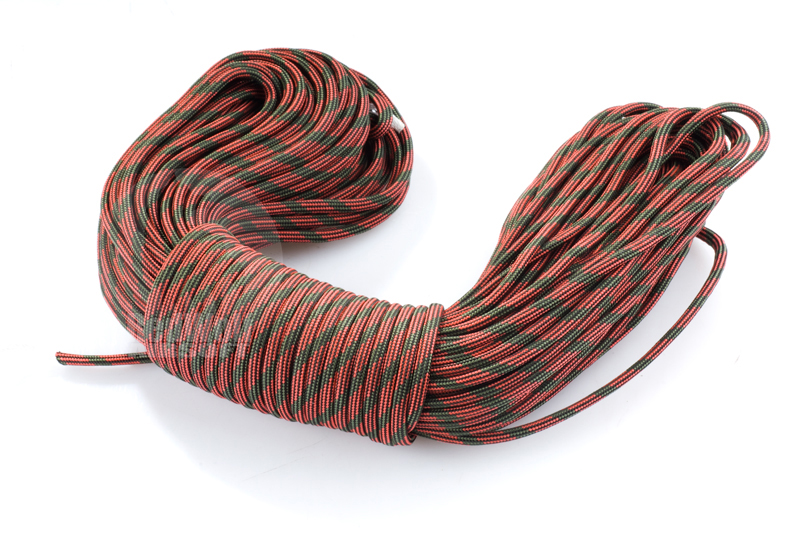 TMC 30M Nylon Paracord (Red/OD)