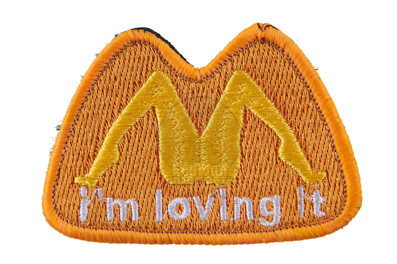 TMC I'm loving it Patch (W-Orange)