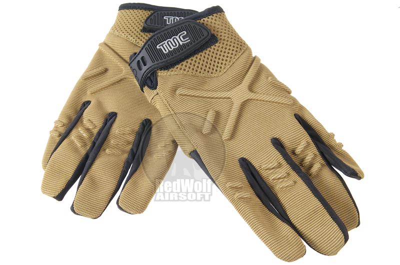 TMC X Cross TAG1 Tactical Gloves (L Size / TAN)