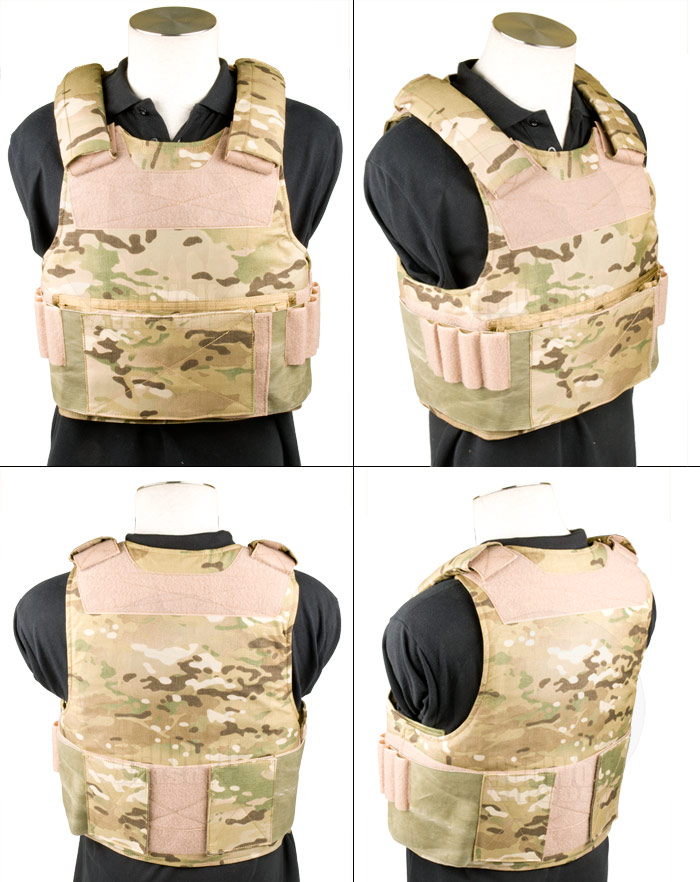 Toy Soldier Mid Threat Body Armor/Plate Carrier (Extra Large / MC)