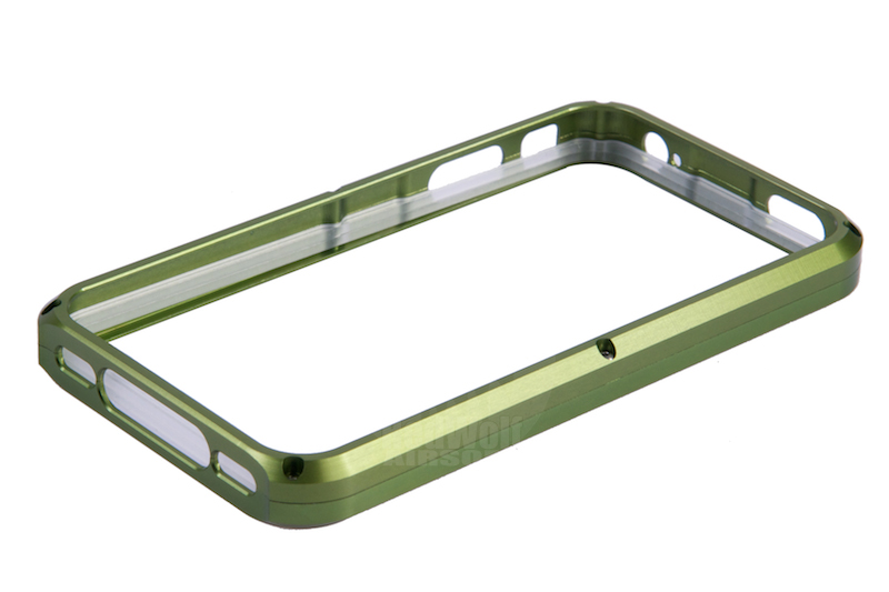 TSC Electron CNC Aluminum Case for iPhone 4 (Green)