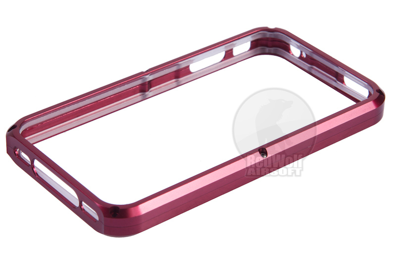 TSC Electron CNC Aluminum Case for iPhone 4 (Red)