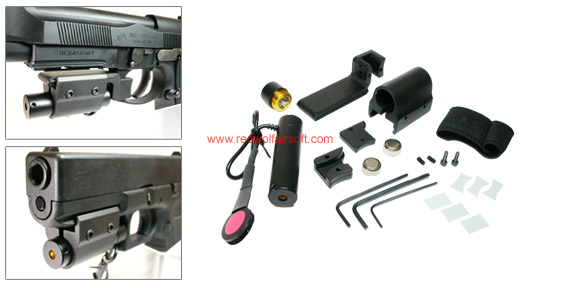 TW Laser, Laser Mount for KSC G17/18C/19/34 Series (Except G26) , All M92F