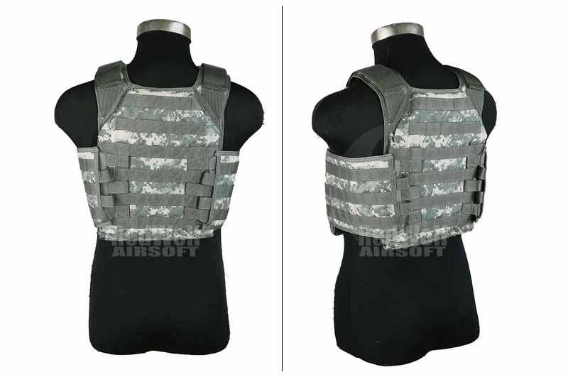 PANTAC Molle HPC Plate Carrier (ACU / Small / Cordura) <font color=red> (Holiday Blowout Sale)</font>