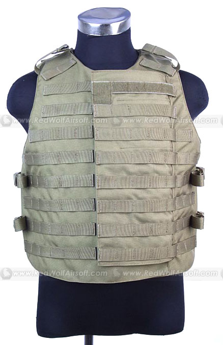 PANTAC (OTV) Outer Tactical Vest - New Version (Small / Khaki / CORDURA)