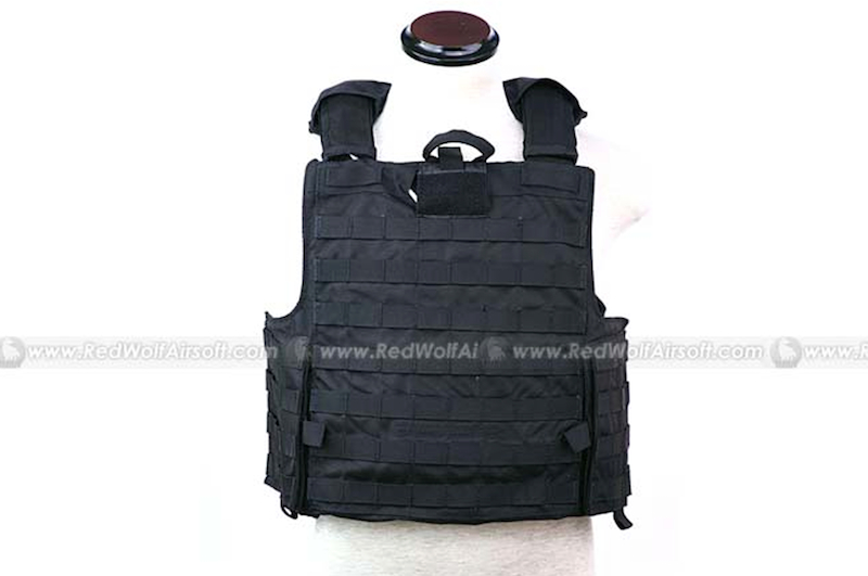 PANTAC Force Recon Vest Mar(Black / Medium / CORDURA)