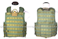 PANTAC Force Recon Vest Mar(OD / Large / CORDURA)