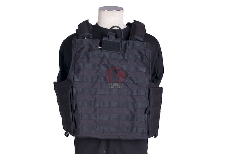 PANTAC Releaseable Molle Armor Marinetime Version (Armor Cover Only / L size / Cordura / Black)