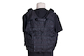 PANTAC Releaseable Molle Armor Marinetime Version (Armor Cover Only / M size / Cordura / Black)