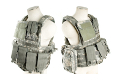 PANTAC Land Force Recon Vest with Molle Pouches (Medium / ACU / Cordura) <font color=red> (Holiday Blowout Sale)</font>
