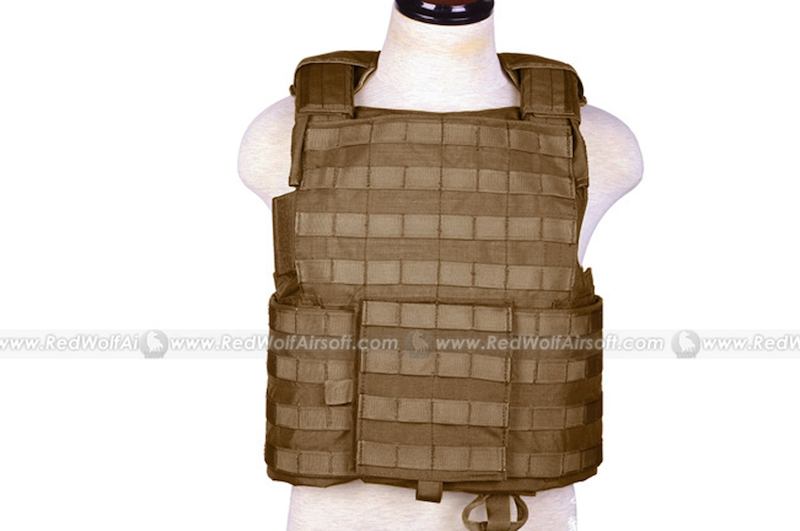 PANTAC Force Recon Vest Land (CB / M / CORDURA)
