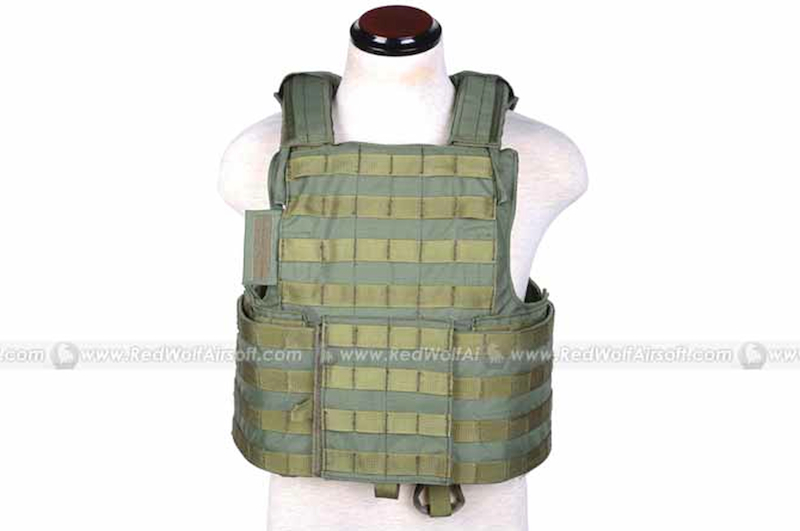 PANTAC Force Recon Vest Land (OD / XL/ CORDURA)