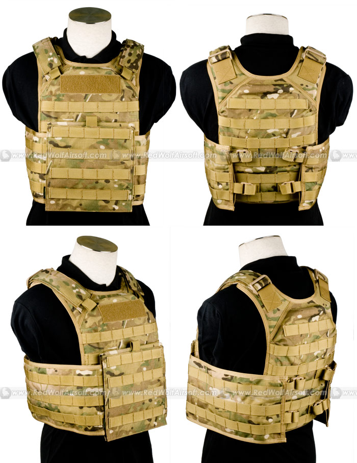 PANTAC Molle Tactical Plate Carrier Full Set (MC / Medium / Cordura)