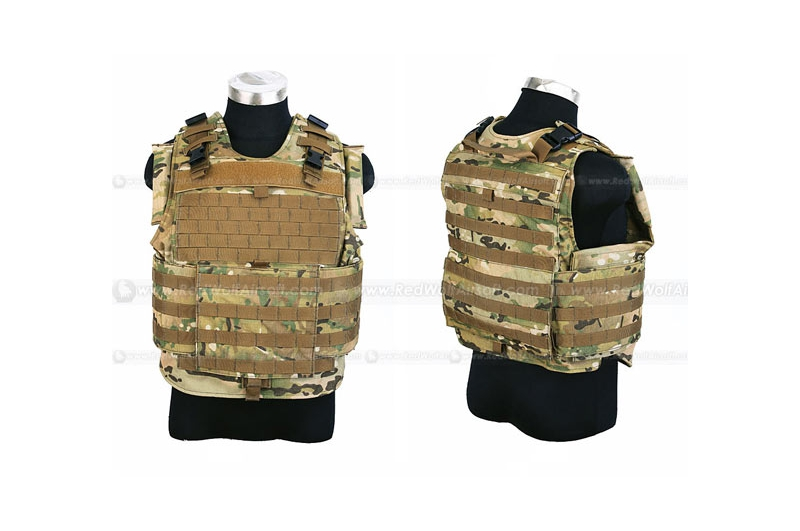PANTAC MTV Body Armor (Medium / Crye Precision Multicam CORDURA) <font color=red>FREE SHIPPING</font>