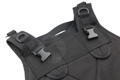 PANTAC Molle RRV Back Panel (Cordura / Black)
