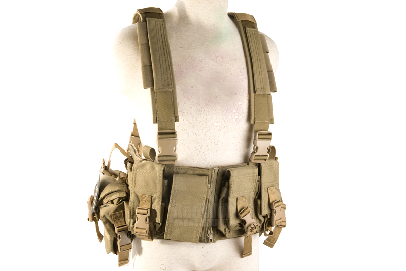 PANTAC MCR Tactical Chest Vest (Cordura / Khaki)