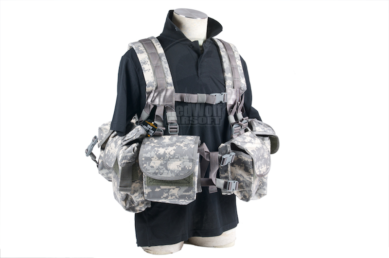 PANTAC SEALS 1195K GUNER Floating Harness (Cordura/ACU) <font color=red> (Holiday Blowout Sale)</font>