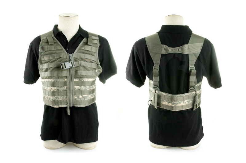 PANTAC FLC Molle Tactical Vest (ACU / Cordura) <font color=red> (Holiday Blowout Sale)</font>