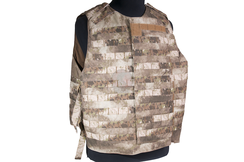 PANTAC OTV Intercepter Body Armor, (Large / A-TACS / Cordura) - Deluxe Version