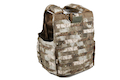 PANTAC Releaseable Molle Armor Marinetime Version, Armor Cover Only (X-Large / A-TACS / Cordura)