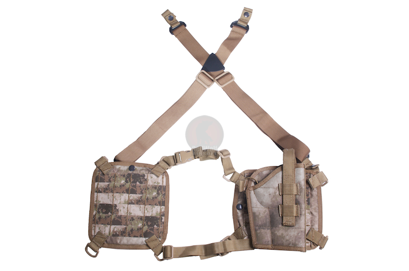 PANTAC Molle Shoulder Panel Holster (A-TACS / Cordura) - Deluxe Version