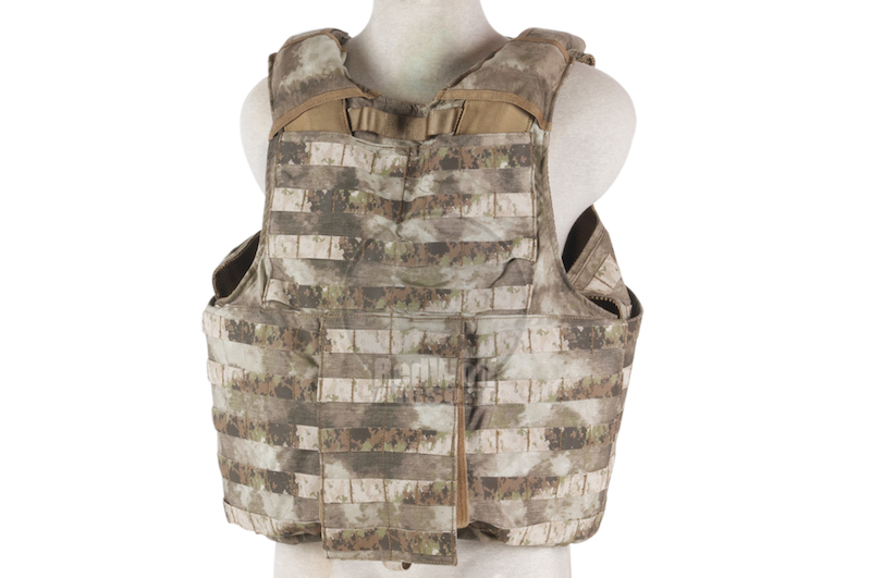 PANTAC Releaseable Molle Armor Land Version (Large / A-TACS / Cordura)