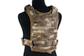 PANTAC Molle Tactical Plate Carrier (Medium / A-TACS / Cordura)